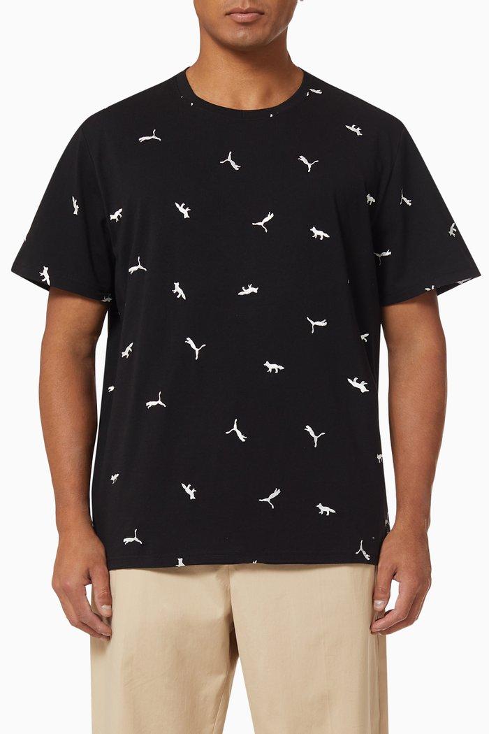 x Maison Kitsuné Printed T-shirt