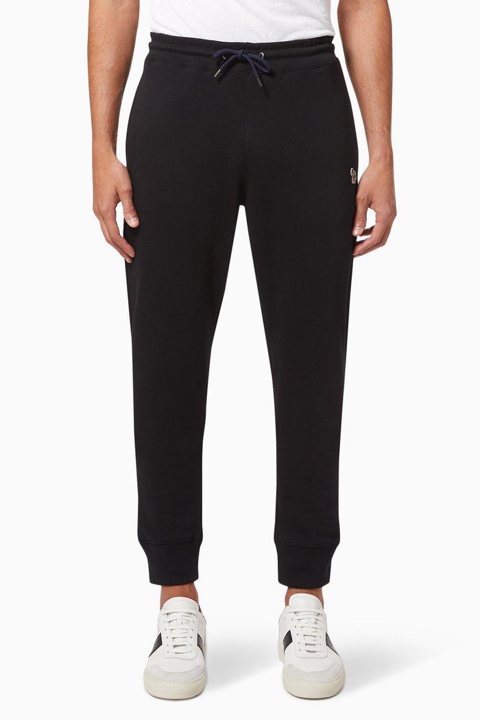 Zebra Logo Sweatpants in Cotton
