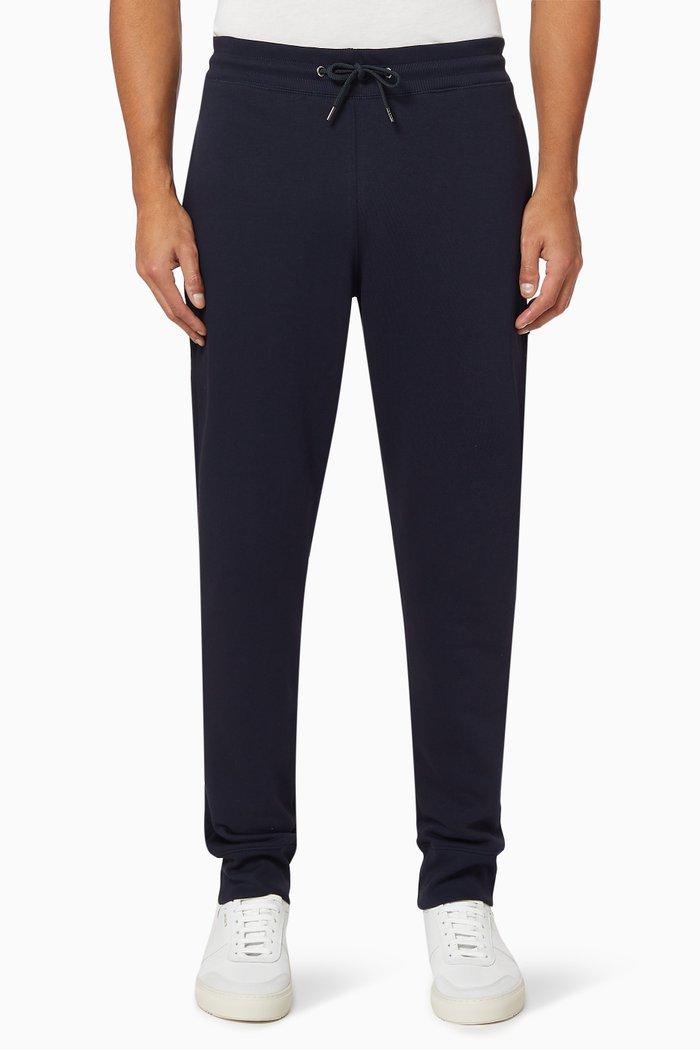 Zebra Logo Cotton Sweatpants