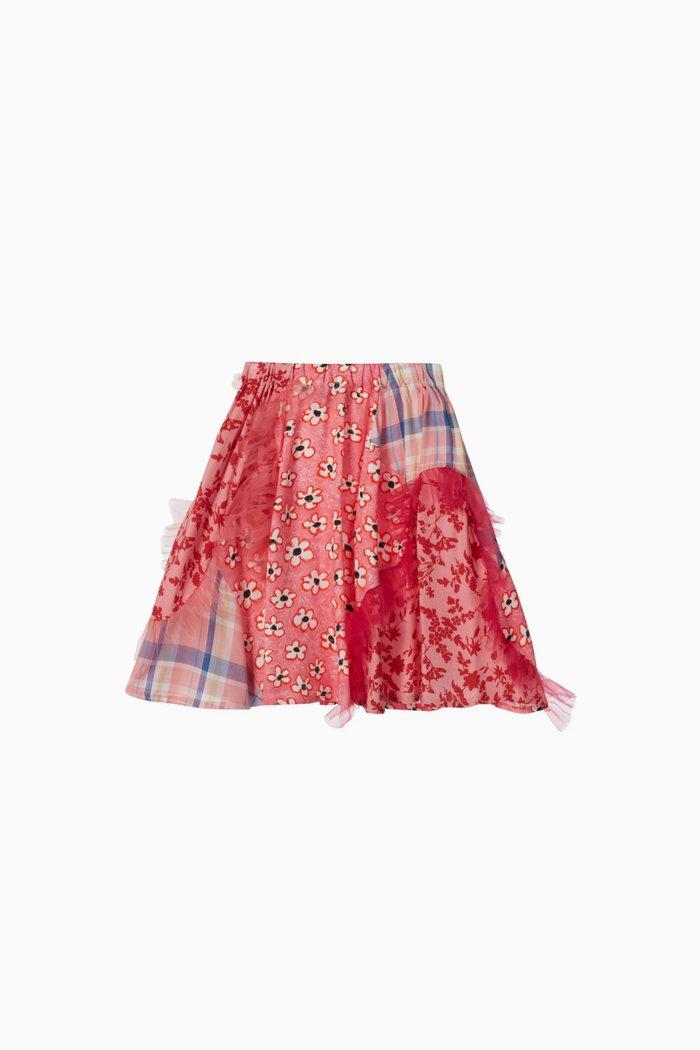 Gypsy Ruffled Viscose Skirt