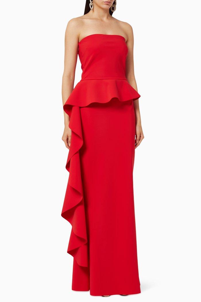 Eliska Strapless Gown
