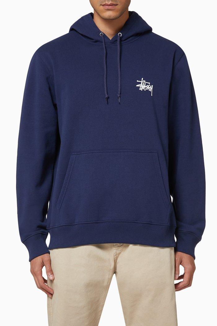 Basic Stüssy Jersey Hoodie