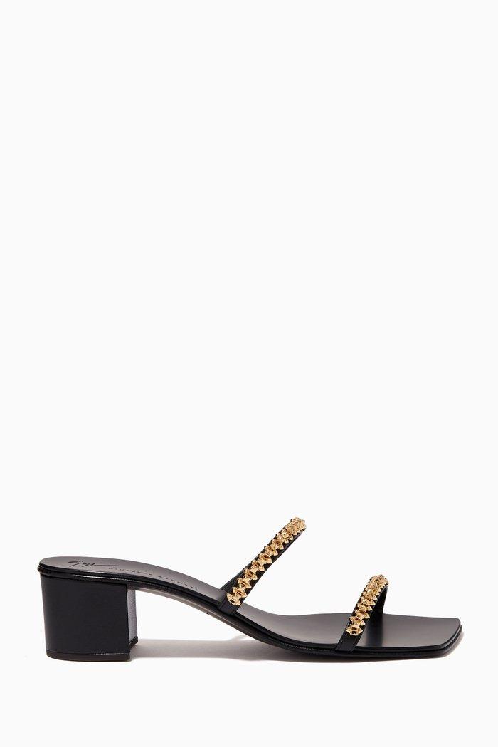 Nerissa 40 Sandals in Leather