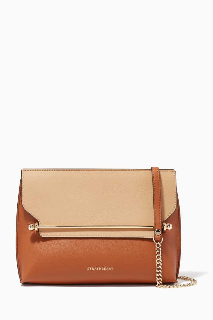 Stylist Crossbody Bag in Leather