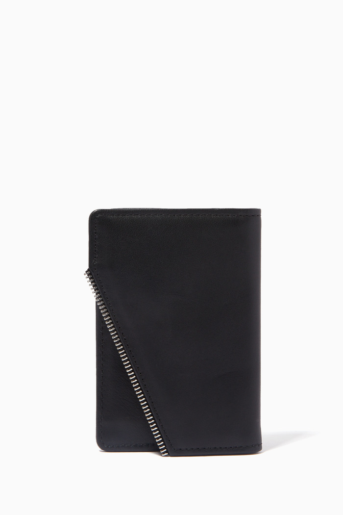 Avant Ripped Cardholder in Leather