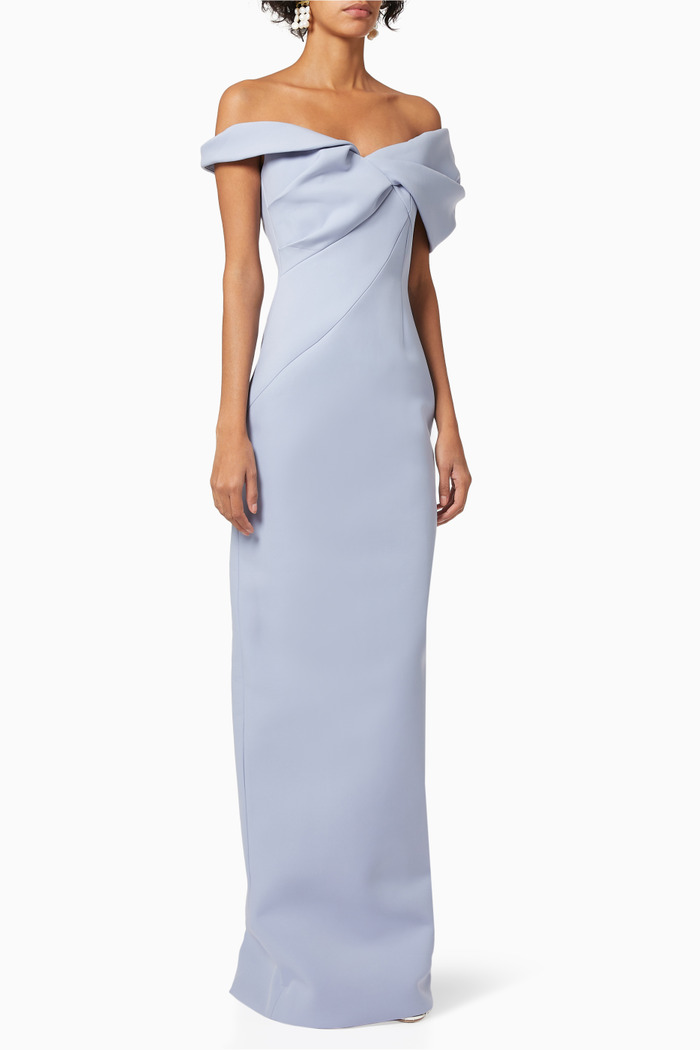 Matteo Off-Shoulder Gown