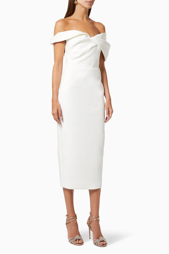 Matteo Off-Shoulder Dress