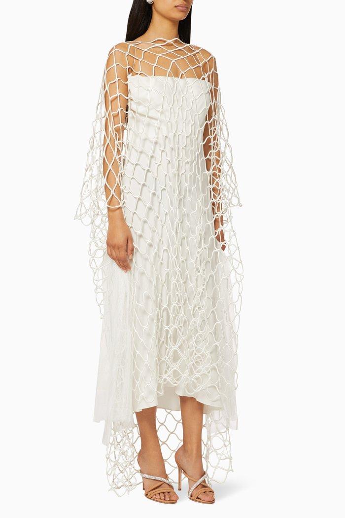Des Mots Knitted Midi Dress