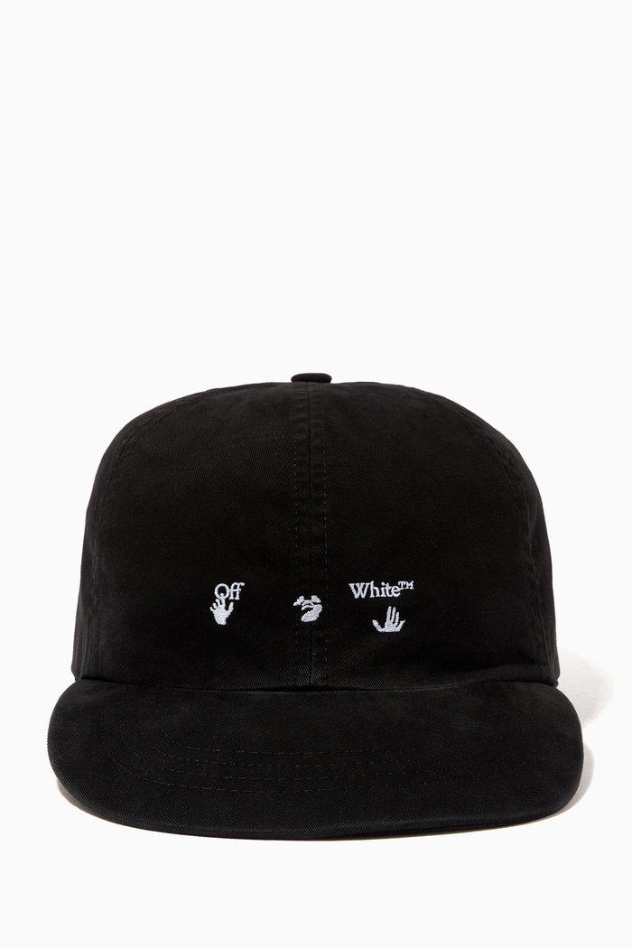 Logo Baseball Cap in Cotton