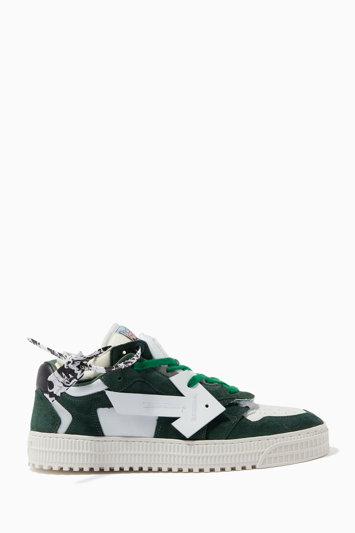 Floating Arrow Sneakers in Suede Leather