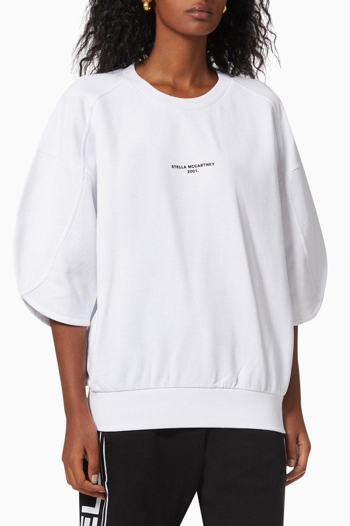 """Stella McCartney 2001."" Sweatshirt in Organic Cotton Jersey"