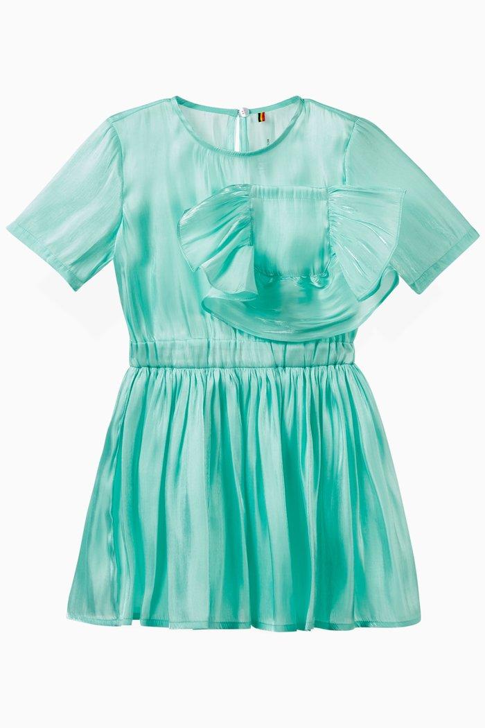 Ruffled Pocket Dress
