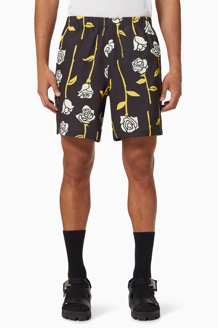 All Over Roses Shorts