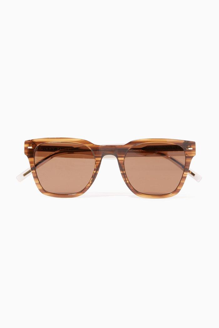 The E-010 Sunglasses in Acetate