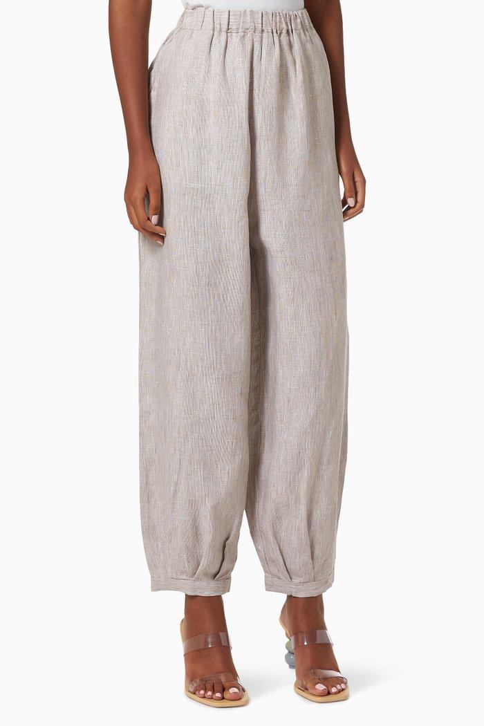 Cove Pants in Linen