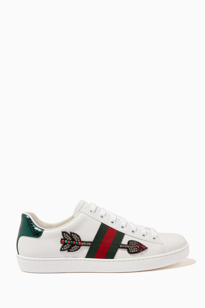 Ace Arrow Sneakers in Leather