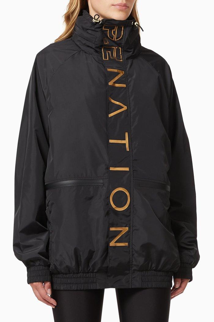 Blockshot Jacket in Technical Fabric