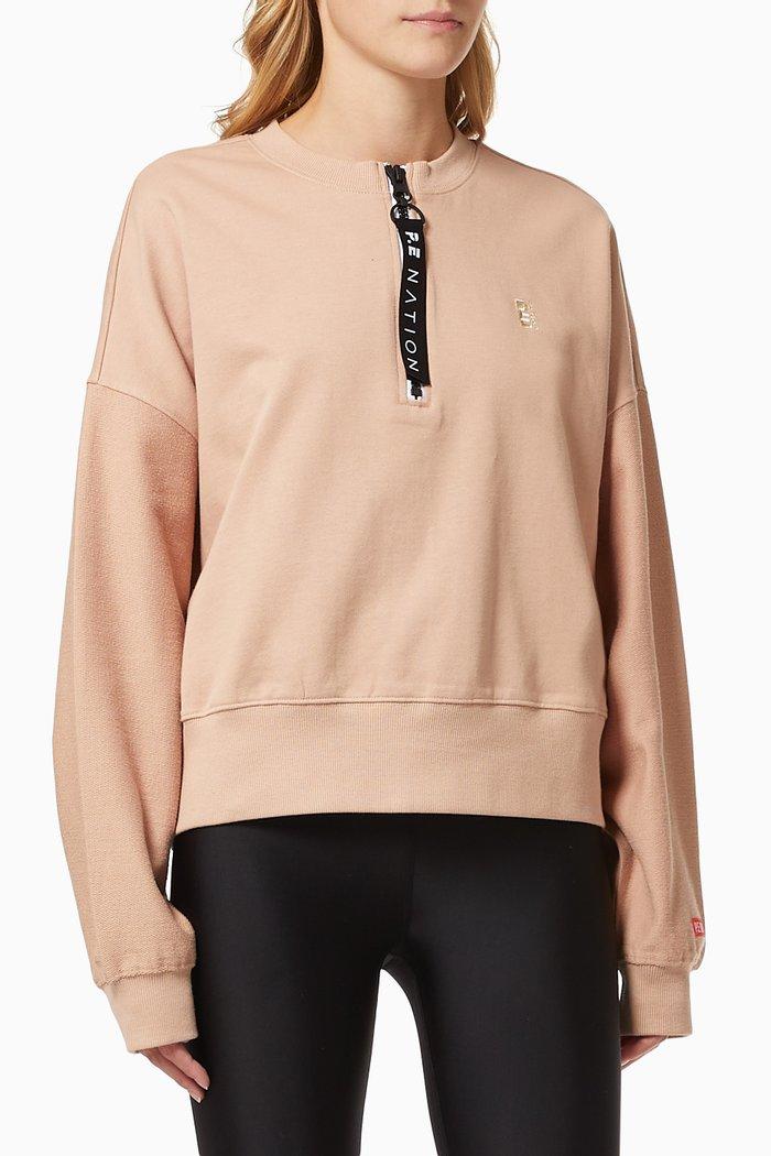 Regain Cropped Sweatshirt in Organic Cotton