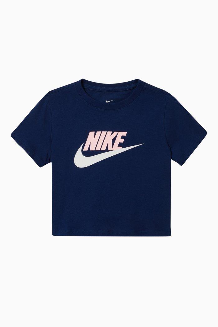 Sportswear Cropped T-Shirt in Jersey