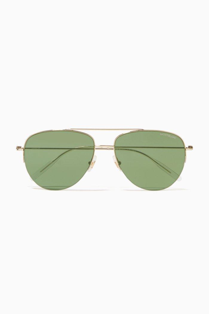 Aviator Sunglasses in Metal