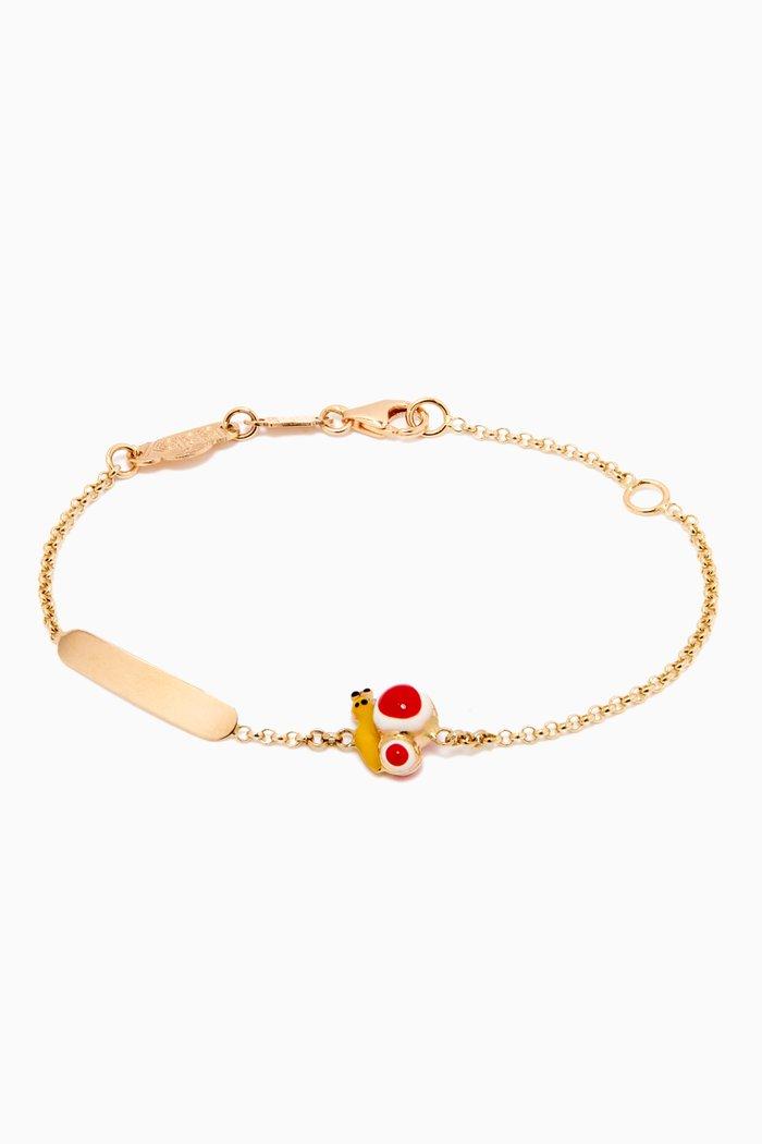 Wonder Butterfly Bracelet in 18kt Yellow Gold