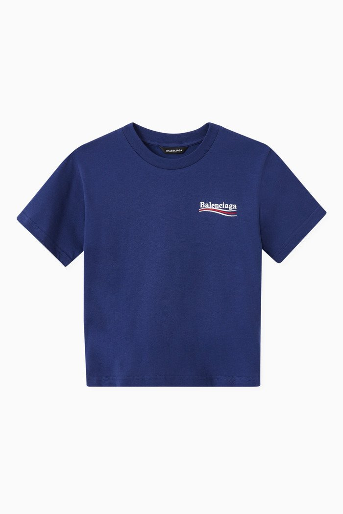 Political Campaign T-shirt in Cotton Jersey