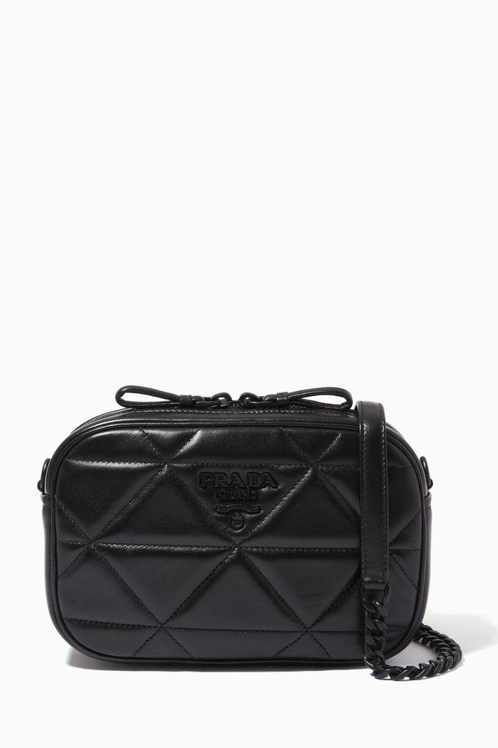 Spectrum Shoulder Bag in Quilted Nappa