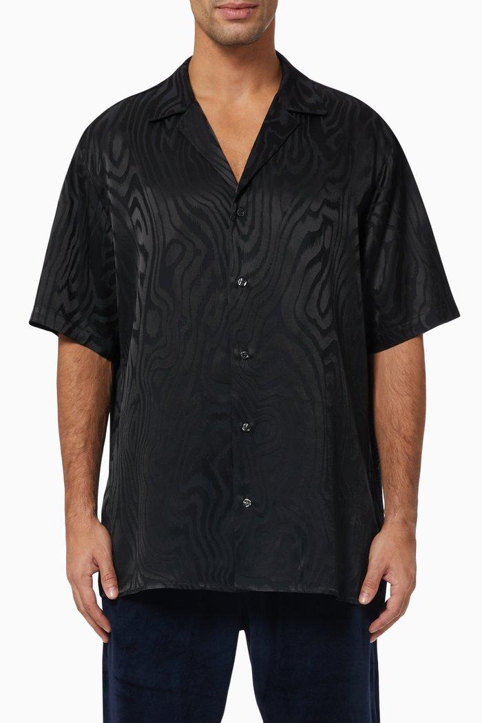 Haerthwood pattern. Hawaii Shirt in Acetate