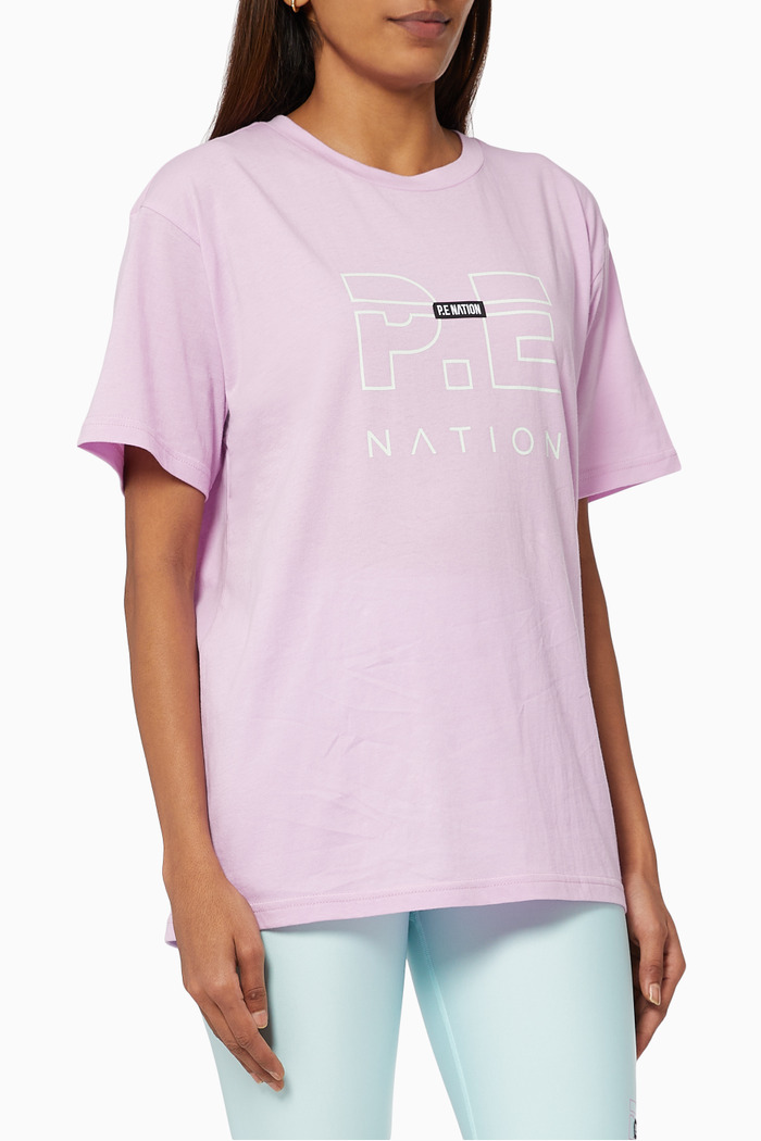 Heads Up T-shirt in Organic Cotton