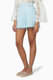 Light Blue Winsome Sphere Shorts