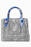 Grey Python Regular My Sweet Box Bag