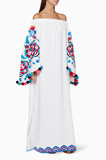 White Embroidered Favourite Wife Kaftan