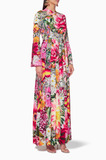 NMulti-Coloured Desmine Printed Maxi Dress
