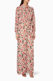 Multi-Coloured Floral-Print Jumpsuit